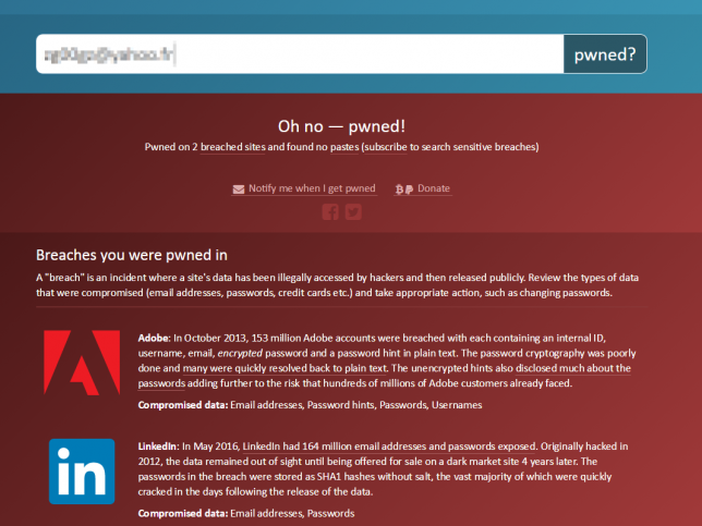 HaveBeenpwned2